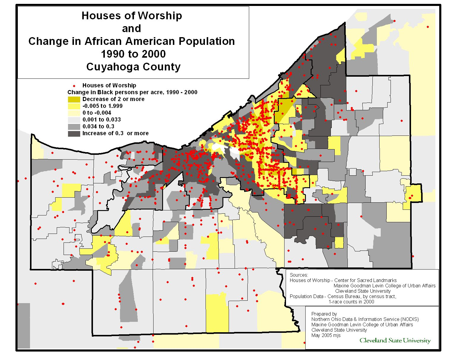 Northern Ohio Data And Information Service Cleveland State - Us census zip code data