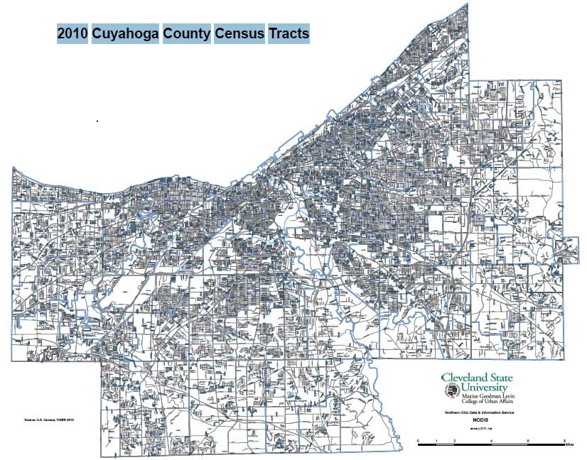 2010 Cuyahoga County Census Tracts
