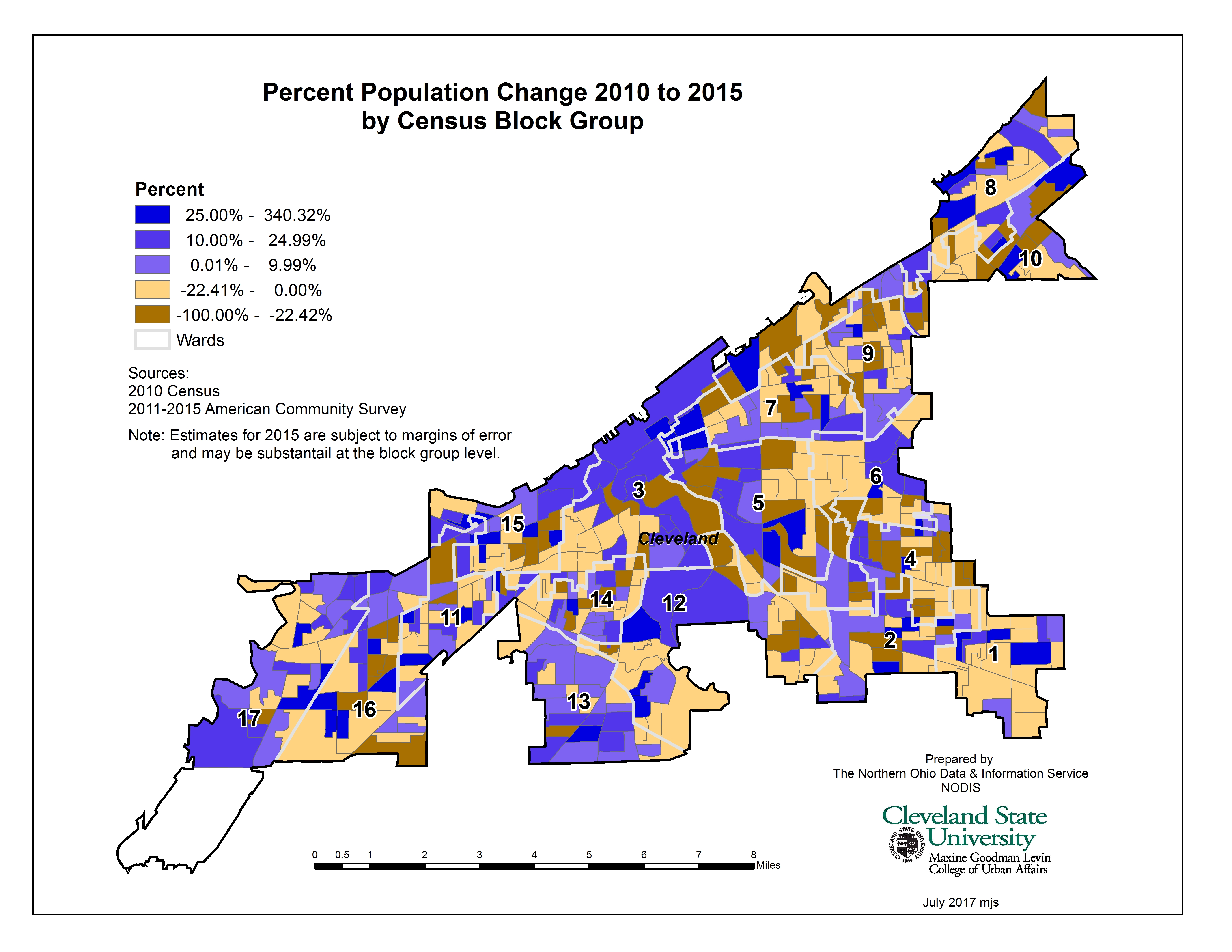 Census Block Group Map on